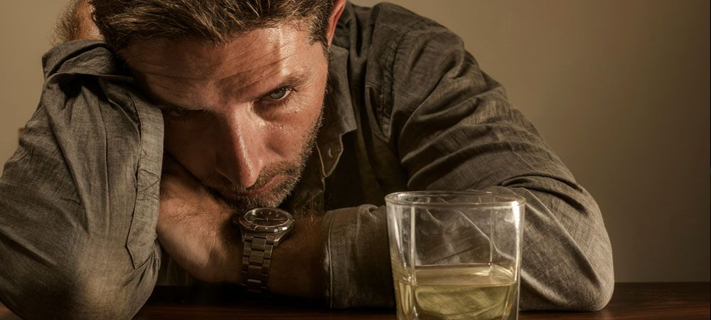 Inability to cut back on drinking