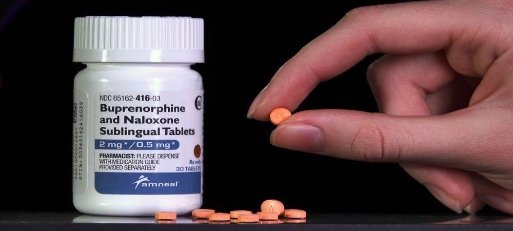 buprenorphine and naloxone