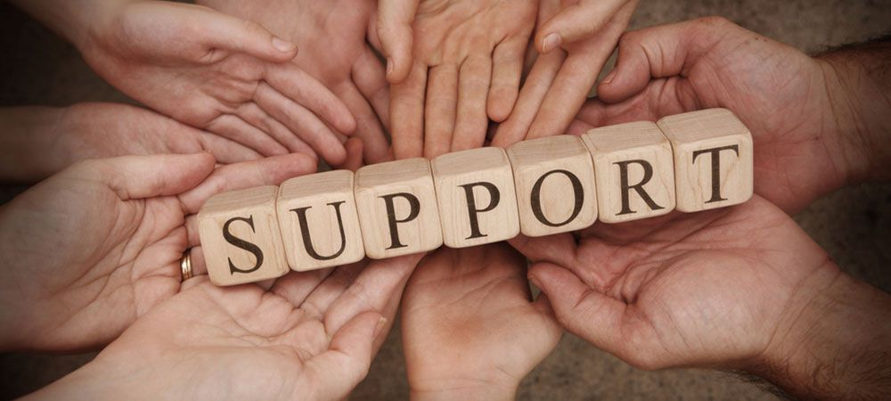 Build a strong support group