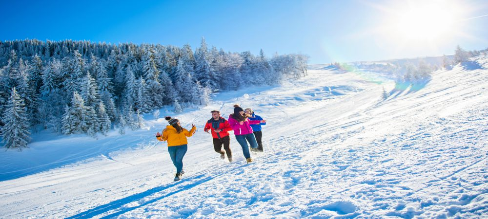 addiction rehab winter activities